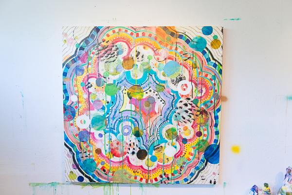 Liz Tran S Colorful Glittering Globe Trotting Art City Arts Magazine