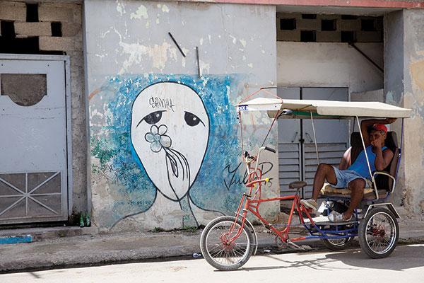 street art by ubiquitous artist Yulier
