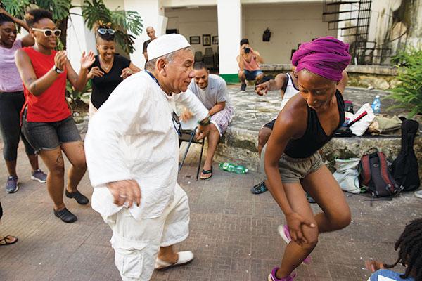 Centro Cultural Pablo de la Torriente Brau in Havana