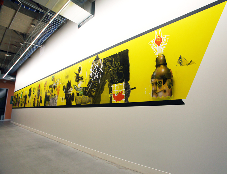 The Art Inside the New Facebook Building - City Arts Magazine