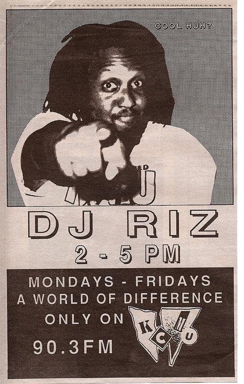 DJ Riz poster