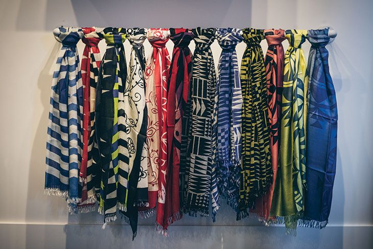 Louie Gong scarves