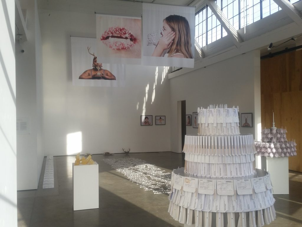 Michelle de la Vega Installation