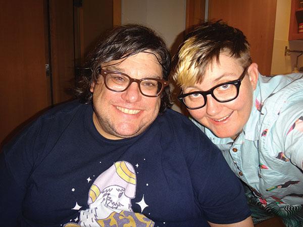 Chris Looney and Clyde Petersen