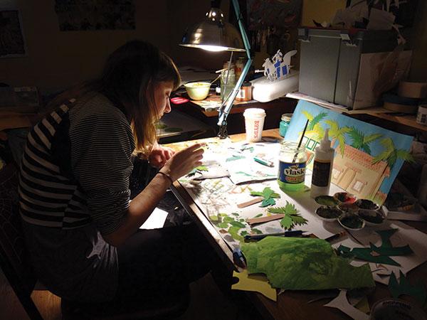 Dena Zilber at work